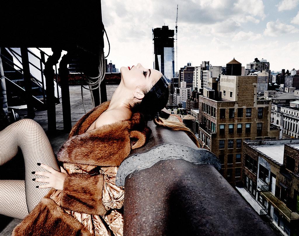 Барбара Палвин — Фотосессия для «L'Officiel» SG 2015 – 2