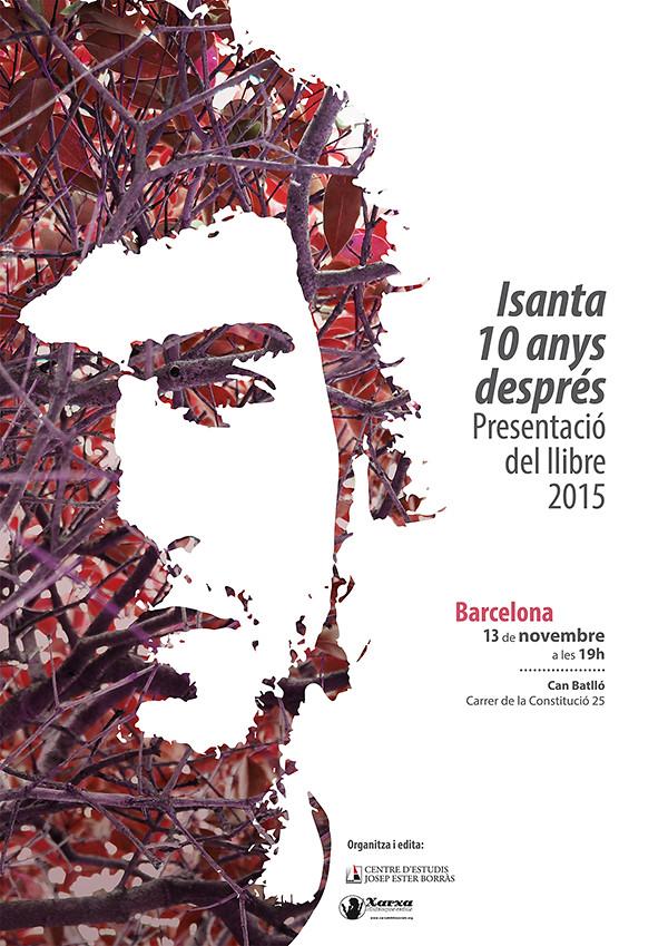 Isanta, 10 anys. Presentació del llibre, el 13 de novembre a Barcelona