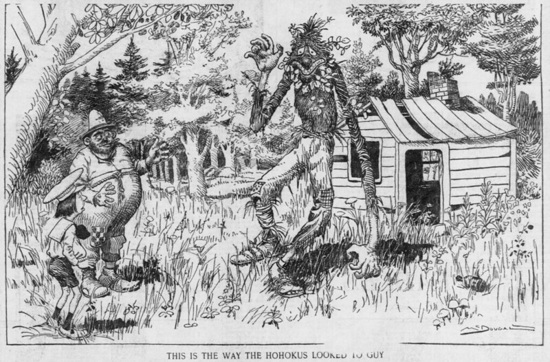 Walt McDougall - The Salt Lake herald., June 29, 1902,This Is The Way The Hohokus Looked To Guy