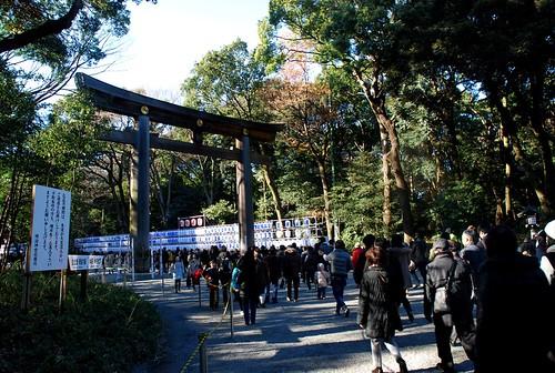 Meiji jingu in Shibuya