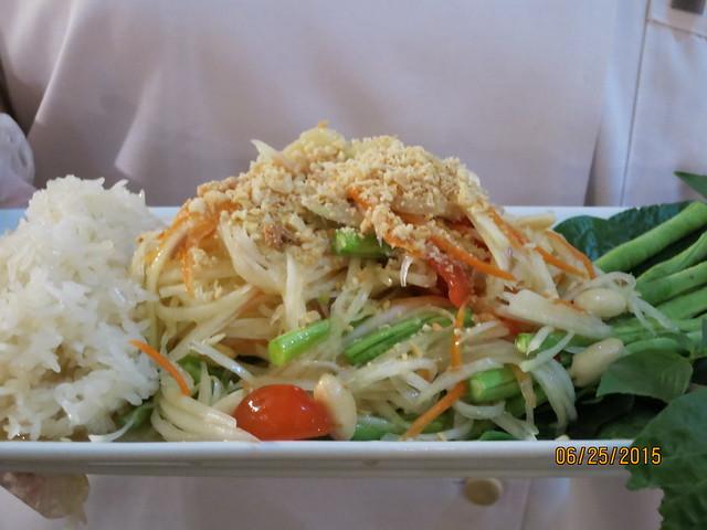 IMG_8265: Thai Papaya Salad