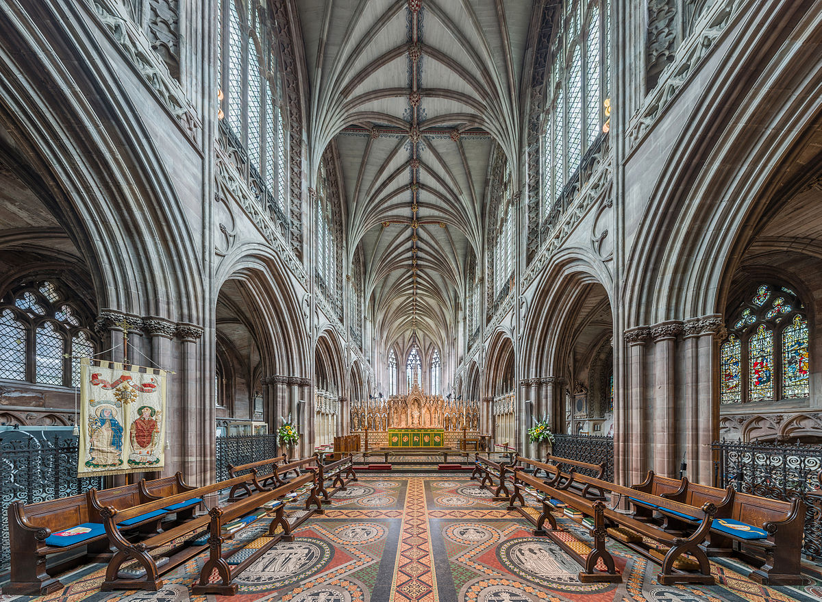 Lichfield Cathedral - The High Altar. Credit: David Iliff