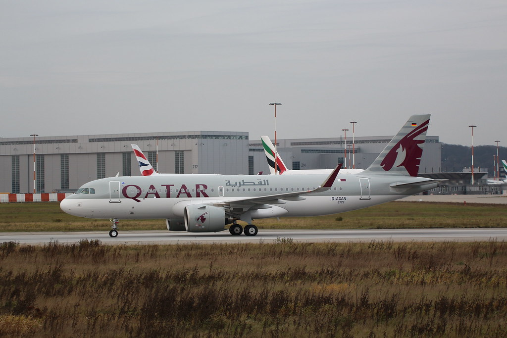 A320neo Qatar Airways A7-AJB