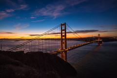 Golden Gate Bridge at Sunrise 1