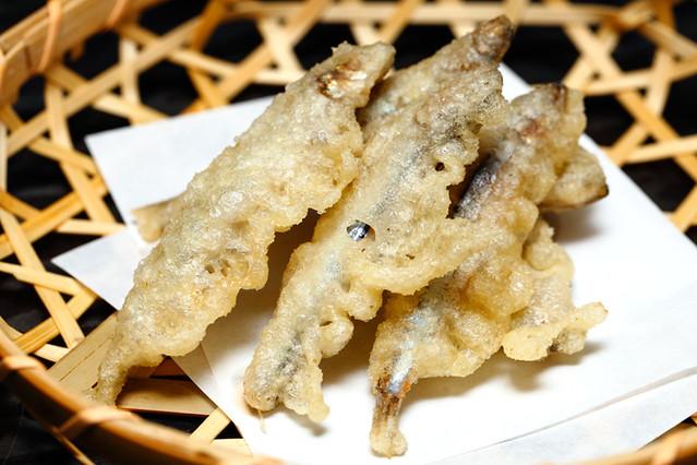 Kurata Small Fish Tempura