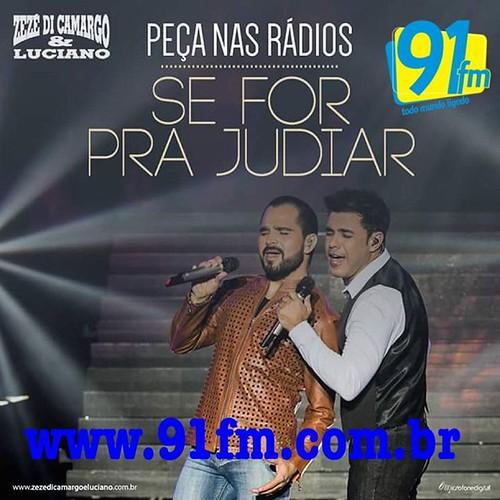 Peça #SeForPraJudiar na sua rádio favorita! 📻🎧🎶 em Leme SP tem @91fmoficial      @radiovagner  #ToNaMidia  @Tonamidia  www.tonamidia.com.br
