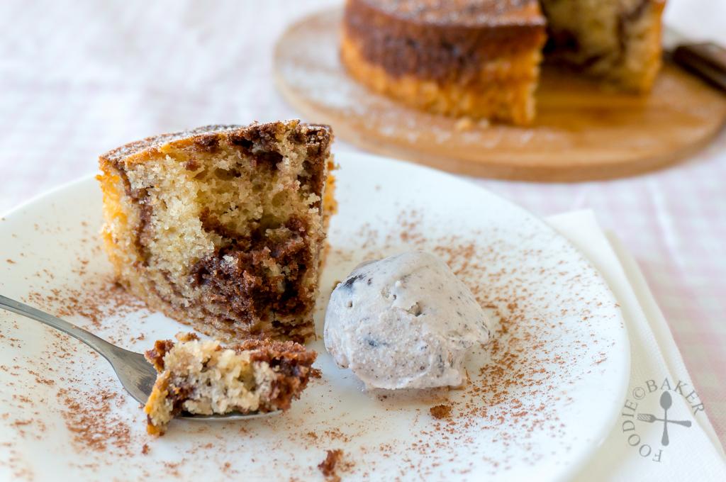 Chocolate Marble Yogurt Cake