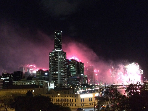 Brisbane on Fire