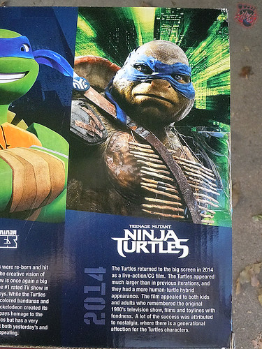 "Nickelodeon ""HISTORY OF TEENAGE MUTANT NINJA TURTLES"" FEATURING LEONARDO - Nick LEONARDO vi / ..with Paramount TMNT Movie LEONARDO '14 i (( 2015 ))"