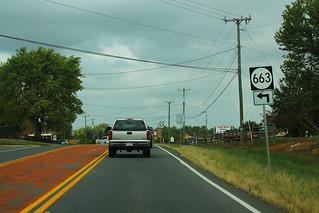 US15 North - VA663 Sign