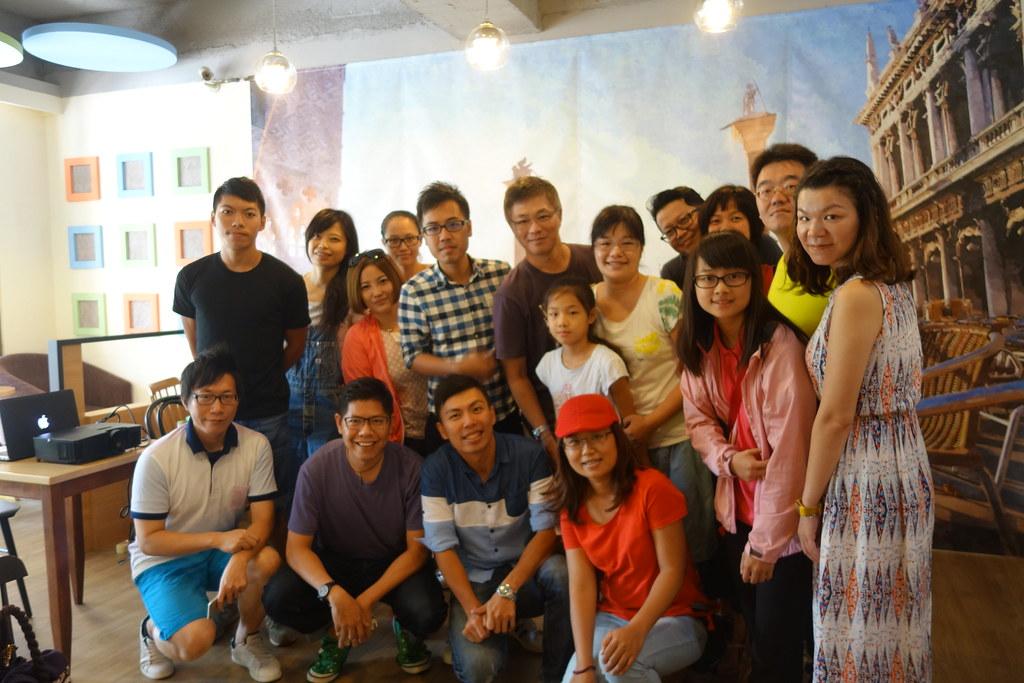 2015.09.05 新竹-SPACE CAFE《我在西藏曬靈魂-新書分享會》