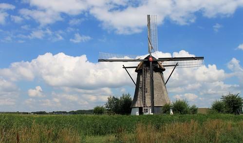 Nederland - Noord-Brabant - Almkerk - Oude Doornse Molen