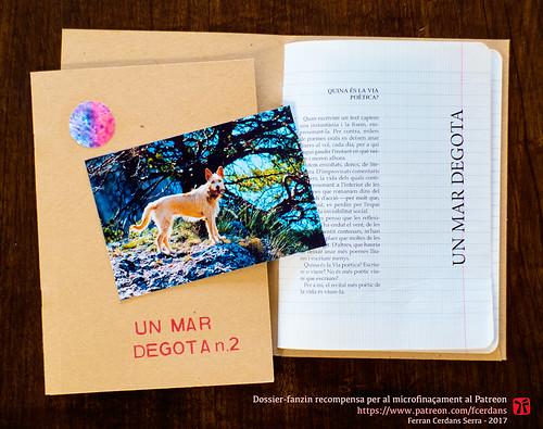 Un mar degota n.2, revista d'autor de Ferran Cerdans Serra, tardor 2016