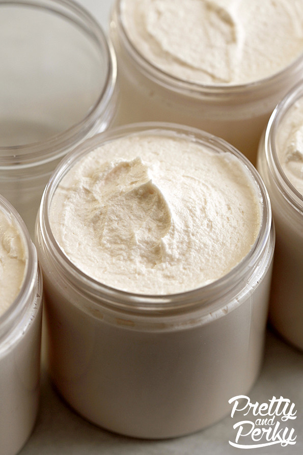 Gold Whipped Cream Soap