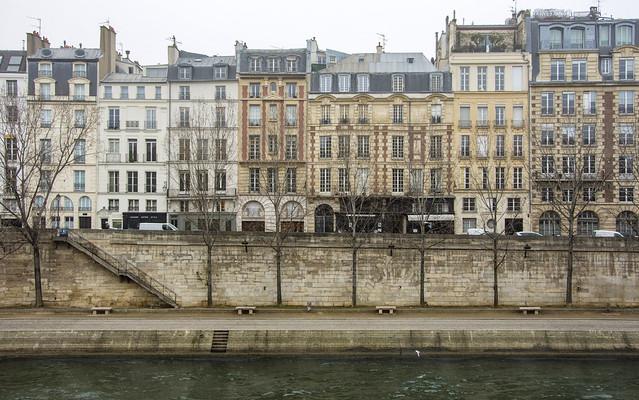 les quais de la Seine ...