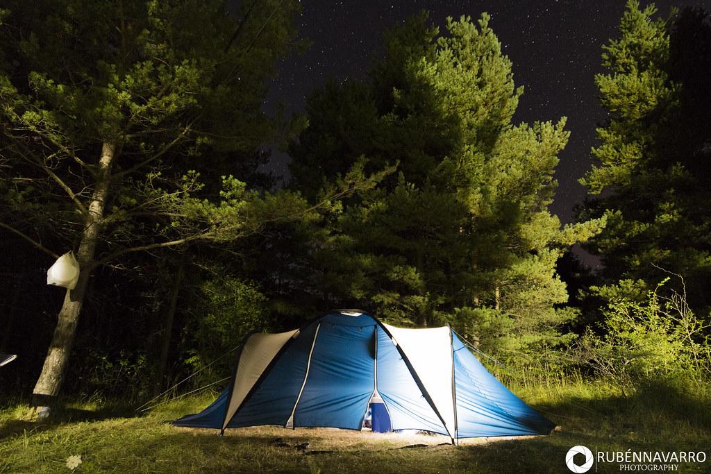 Tienda de campaña para ir de camping Pedraforca