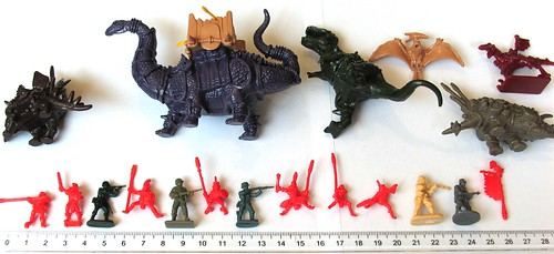 zdjęcia Schlacht Dinozaurow 1-72a