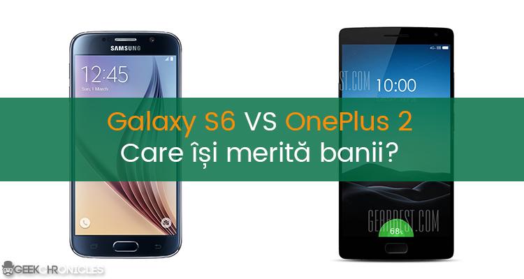 S6 VS ONEPLUS 2