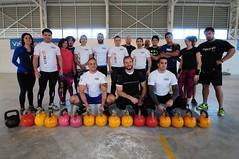 Con la presencia del campeón mundial Denis Vasilev, se desarrolló el seminario de pesa rusa en Ciudad del Deporte
