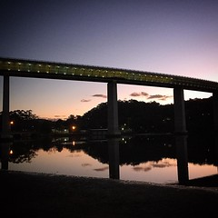 The Bridge #water #woronora #walks #notatwork #evenings