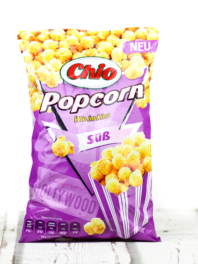Degustabox August, Chio Popcorn