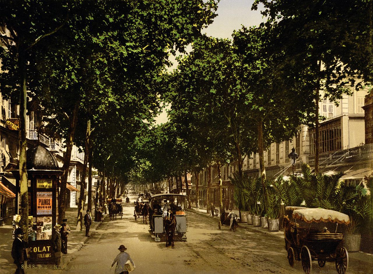 Avenue de la Gare, Nice, French Riviera