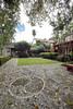 Kampong courtyard