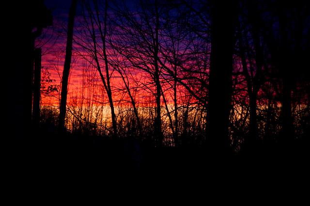 Sunrise on a nightmare
