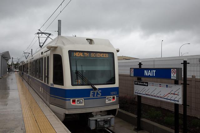 NAIT LRT Station