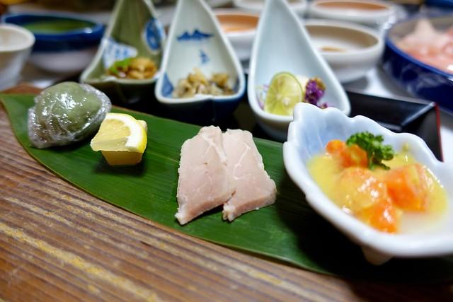 Photo:dinner:松之山料理の前菜 @『ひなの宿 ちとせ』(新潟県十日町市松之山) By TOMODA