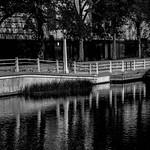 Rideau Canal - Ottawa in B&W
