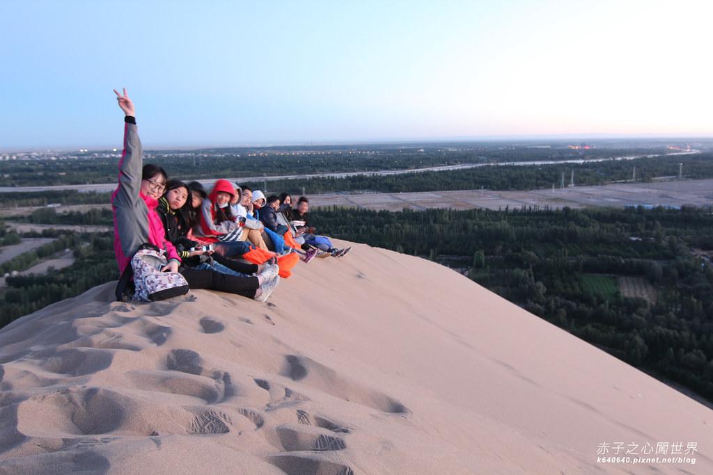 絲路-敦煌鳴沙山月牙泉-沙漠露營32