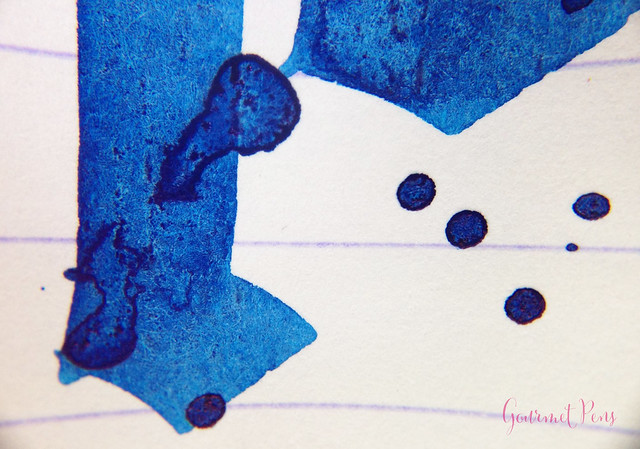 Ink Shot Review Noodler's Revolution Blue @GoldspotPens @CarolLuxury (6)
