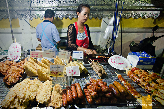 Pai Walking Street Night Market Street Food