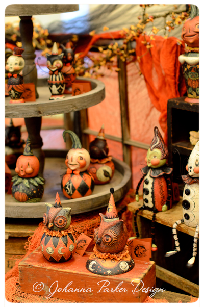 Johanna-Parker-Halloween-Folk-Art-Display