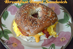 Breakfast Bagel Sandwich