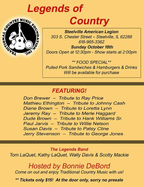 Legends of Country 10-18-15