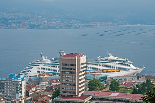 Port of Vigo from Monte del Castro | by bvi4092