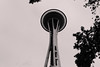 Space Needle pt. 2, Seattle by Sara Shroyer