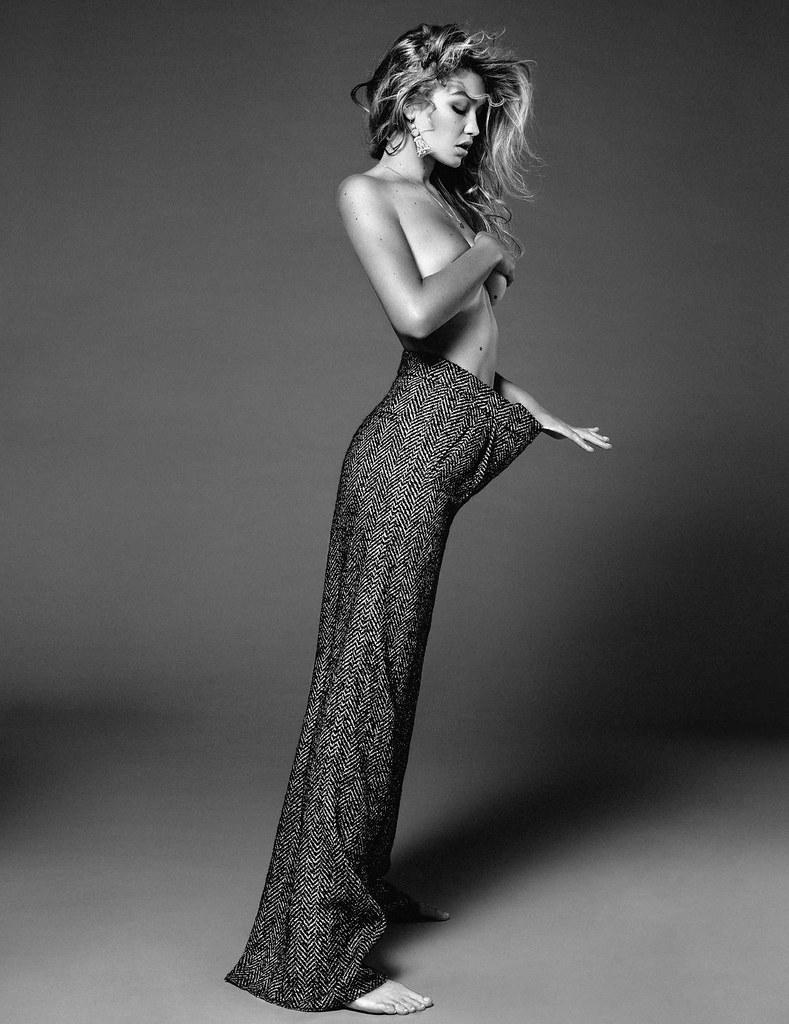 Джиджи Хадид — Фотосессия для «Vogue» NL 2015 – 4