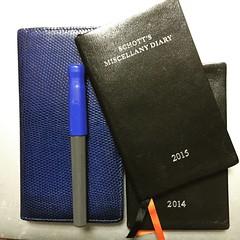 使つた手帳と来年の手帳