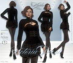 !!! Karla Boutique !!! Victoria Punk mesh - compatible: mesh body Maitreya, Belleza, Classic Avatar