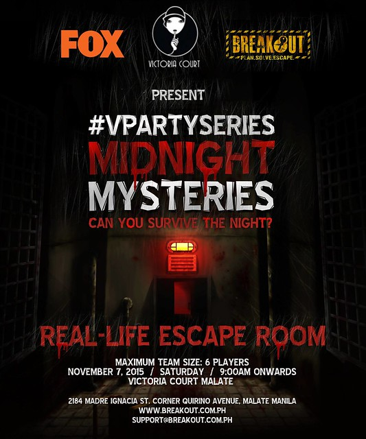 Breakout VParty Series - Midnight Mysteries