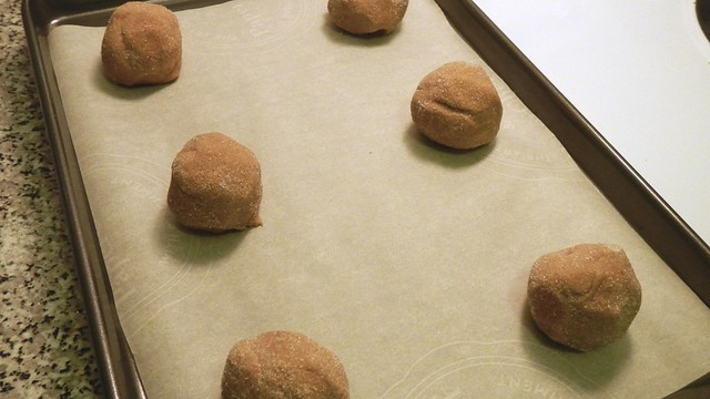 Ginger Molasses Cookies 8