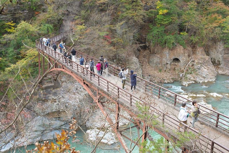 龍王峡・川治温泉 2015年10月31日