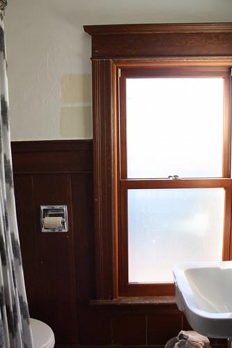 Upstairs Bathroom, Before Painting