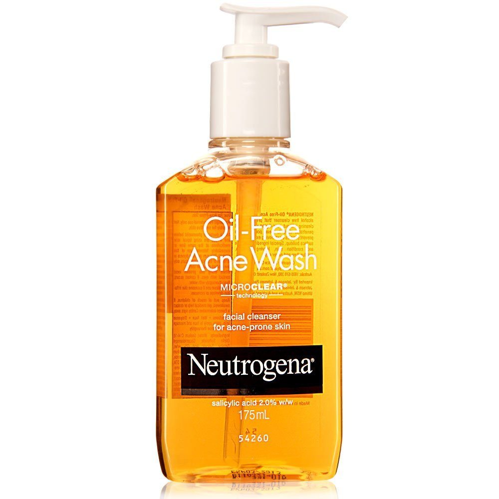 Best Face Wash for oily skin - Neutrogena Oil-Free Acne Face Wash