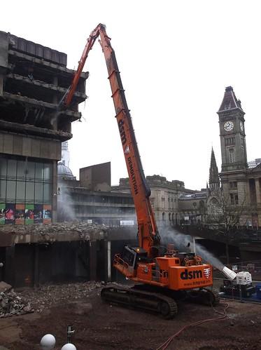Demolishing Birmingham Library