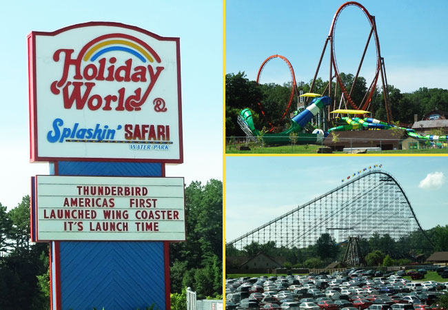 holiday world theme park - things to do in santa claus indiana