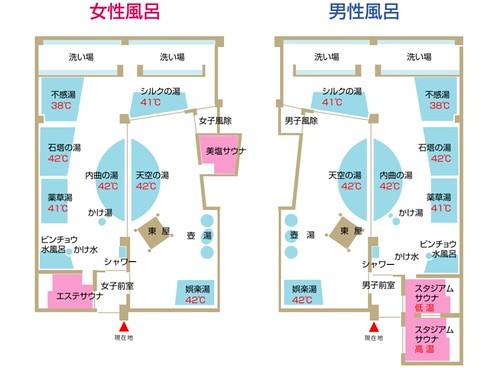 hokkaido-asahikawa-morinospa-kagura-bath-map